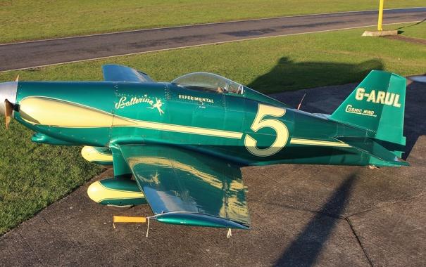 """Фото обои гоночный самолёт, """"Космический ветер"""", LeVier, америнский, Cosmic Wind"""
