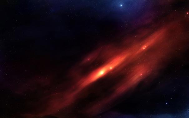 Фото обои звезды, пространство, созвездие, бесконечность, blame