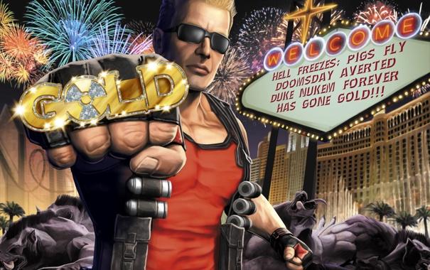 Фото обои Las Vegas, Duke, кабаны, печатка, Nukem