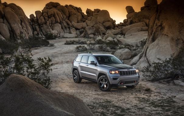 Фото обои джип, внедорожник, гранд чероки, Jeep, Grand Cherokee