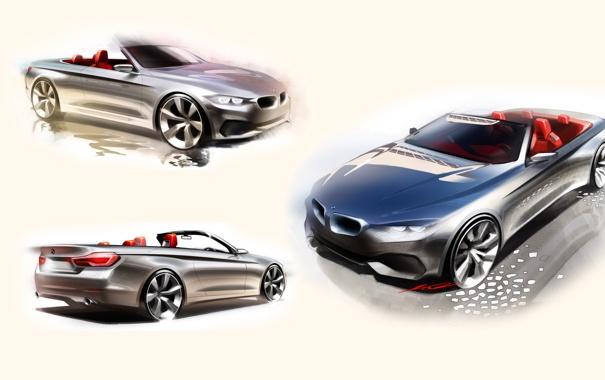 Фото обои F33, BMW, кабриолет, 4-Series, Cabrio, бмв
