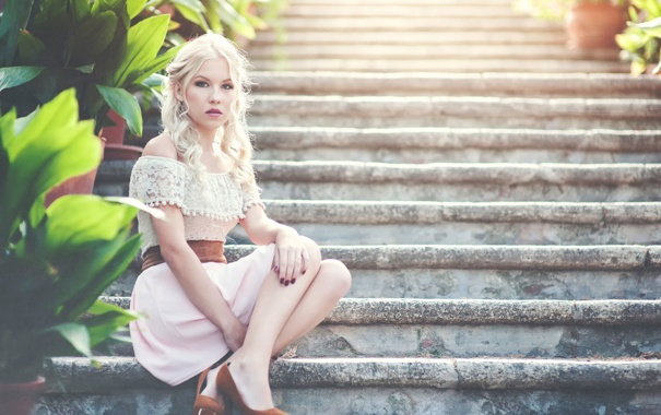 Фото обои лестница, ступеньки, ножки, Nelly Lehtinen