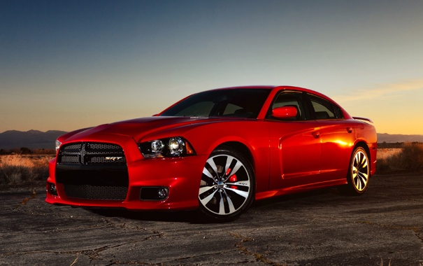 Фото обои Dodge, SRT8, 2012, Charger