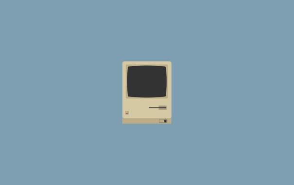Фото обои Apple, mac, macintosh, Яблоко