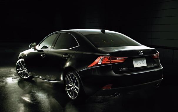 Фото обои car, Lexus, black, лексус, wallpapers, fon, IS 350