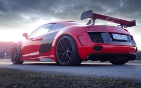 Картинка авто, Audi, tuning, задок, GT850, Prior-Design, приор-дизайн