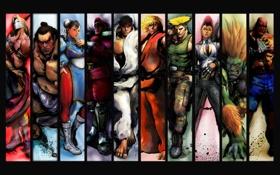 Обои игра, game, street fighter 4, уличный боец 4