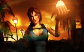 Картинка light, Tomb Raider, stone, Lara Croft