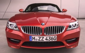 Обои Roadster, Авто, BMW, Машина, Лого, Решетка, БМВ