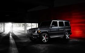 Картинка car, авто, тюнинг, джип, внедорожник, Mercedes Benz, мерседес