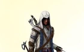 Обои connor, коннор, assassins creed, ассасин
