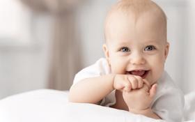 Картинка радость, малыш, ребёнок, сероглазый