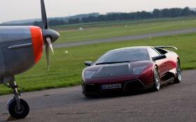 Обои авто, фото, обои, тачки, wallpaper, суперкар, самолёт