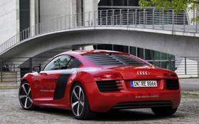 Картинка car, машина, Audi, ауди, Prototype, задок, e-Tron