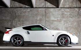Обои авто, тюнинг, вид сбоку, Nismo, Nissan 370Z