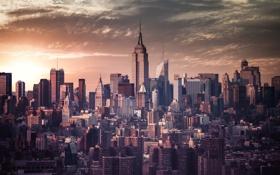 Обои город, мегаполис, Нью - Йорк, New - York