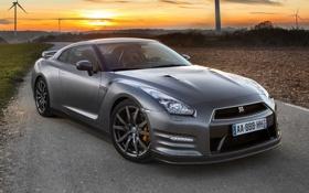 Обои R35, GT-R, передок, Ниссан, Nissan, Premium Edition, ГТ-Р