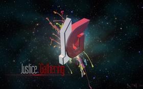 Обои абстракция, byKirillZavorotnyy, JusticeGathering