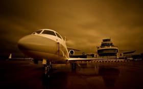 Картинка авиация, самолёт, аэродром