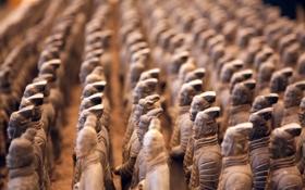 Обои Terracotta, Army, China