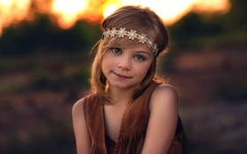 Обои улыбка, девочка, прелесть, Lorna Oxenham