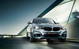 Обои бмв, BMW, 3 series, гран туризмо, Gran Turismo, 2015