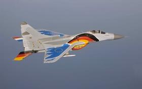 Картинка истребитель, полёт, многоцелевой, MiG-29, МиГ-29