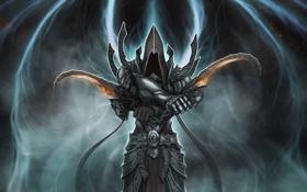 Обои angel, diablo 3, Diablo III: Reaper of Souls, malthael