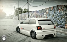 Обои Volkswagen, tuning, polo