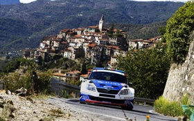 Картинка Город, 2011, S2000, Skoda, Fabia, IRC, Intercontinentak Rally Challenge
