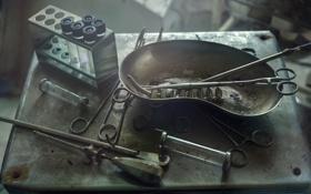 Картинка инструменты, тюрьма, медицина