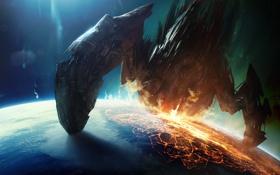 Обои Планета, Вторжение, Purge, Огонь, Invasion