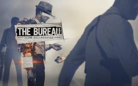 Обои оружие, шляпа, галстук, рубашка, агент, кобура, FBI