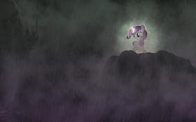 Картинка свет, дождь, тьма, пони, My little pony