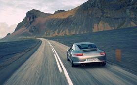 Картинка авто, скорость, cars, auto, Porsche 911, Speed, Carrera
