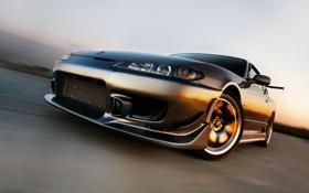 Обои S15, Silvia, Nissan, ниссан, авто обои, сильвия
