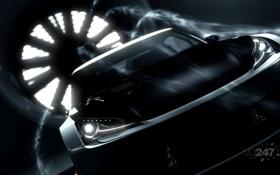 Обои аэродинамика, труба, турбина, Gran Turismo 5, обдув