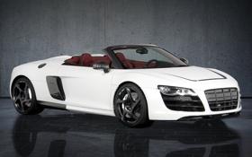 Картинка авто, фон, Audi, ауди, обои, тюнинг, Spyder