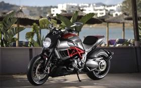 Обои Ducati, 2011, дукати, Diavel, motowall