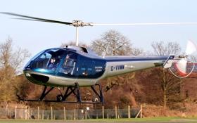 Обои американский, вертолёт общего значения, трёхместный, Enstrom 280FX