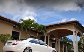 Обои Mercedes Benz, AMG, S-Class, S-Class White