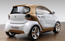 Обои золотистый, Smart, смарт, forvision concept