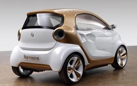 Картинка золотистый, Smart, смарт, forvision concept