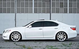 Обои белый, тюнинг, тачки, lexus, cars, лексус, auto wallpapers