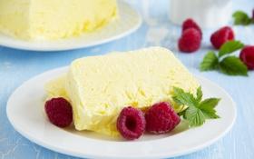 Обои sweet, сладость, raspberry, малина, ice-cream, десерт, dessert
