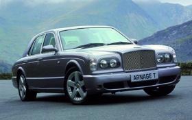 Картинка дорога, горы, Bentley, Arnage