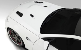 Обои машины, тюнинг, белая, white, cars, Vorsteiner, tuning