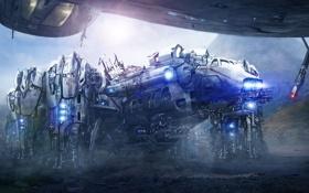 Картинка spaceship, Prometheus, прометей