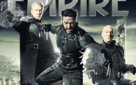 Картинка Wolverine, Hugh Jackman, Logan, Хью Джекман, Ian McKellen, Иэн МакКеллен, Professor