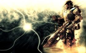 Картинка война, игра, солдат, gears of war